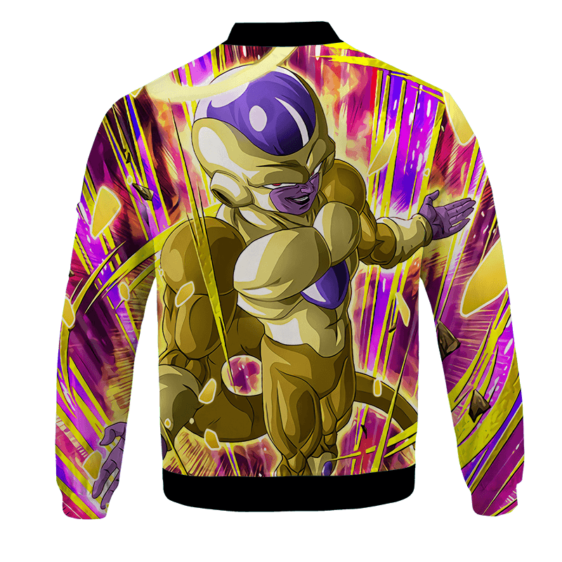 Dragon Ball Z Golden Frieza Awesome Art Bomber Jacket