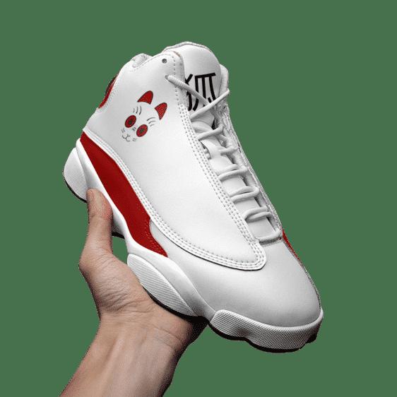 Dragon Ball Z Grandpa Gohan Kitsune Mask Basketball Sneakers