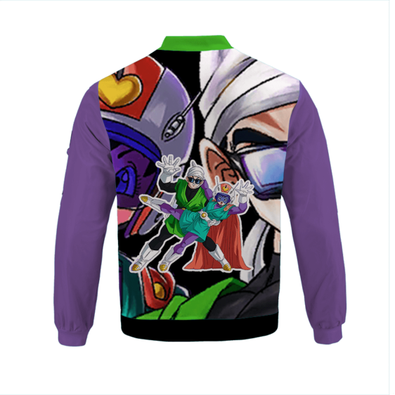 Dragon Ball Z Great Saiyan Man Awesome Bomber Jacket back