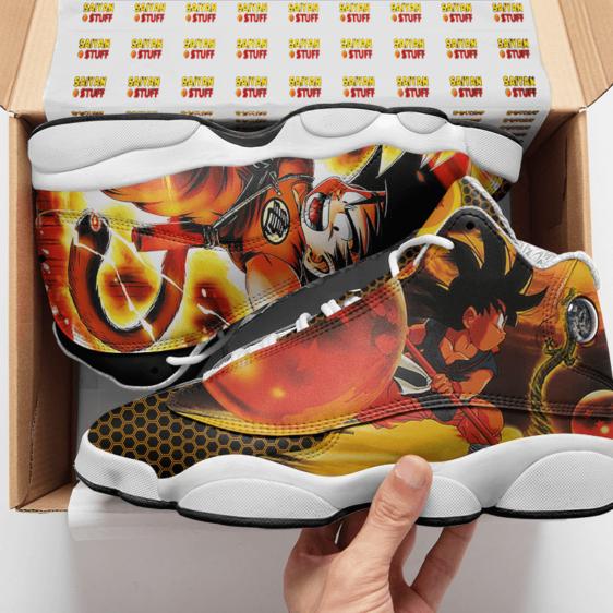 Dragon Ball Z Kid Goku Shenron Basketball Sneakers