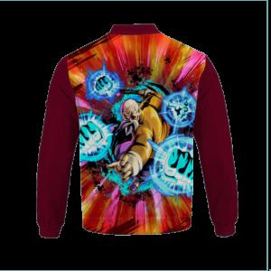 Dragon Ball Z Master Roshi Amazing Graphic Design Bomber Jacket Back
