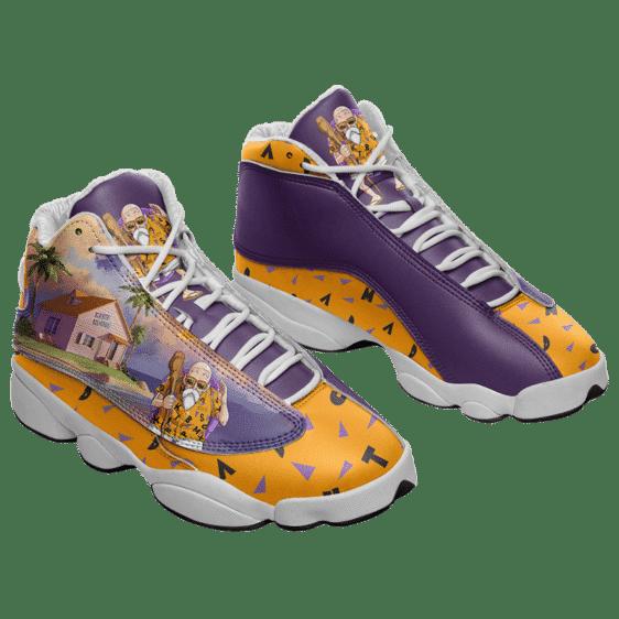 Dragon Ball Z Master Roshi Kame House Basketball Sneakers
