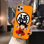 Dragon Ball Z Naughty Kid Goku iPhone 12 (Mini, Pro & Pro Max) Case