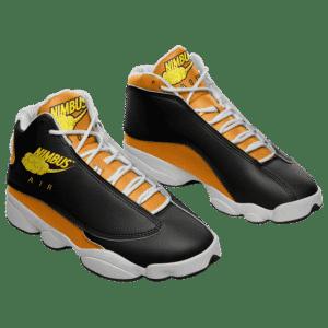 Dragon Ball Z Nimbus Air Nike Parody Basketball Sneakers