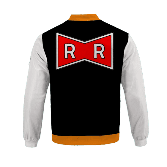 Dragon Ball Z Red Ribbon Army Android 17 Bomber Jacket