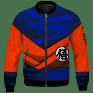 Dragon Ball Z SSJ1 Son Goku Inspired Cosplay Bomber Jacket