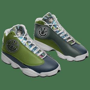 Dragon Ball Z Saiyan Symbol Bardock Basketball Sneakers
