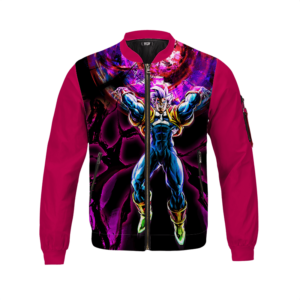 Dragon Ball Z Super Baby 2 Powerful Graphic Bomber Jacket