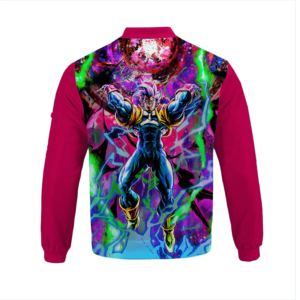 Dragon Ball Z Super Baby 2 Powerful Graphic Bomber Jacket back