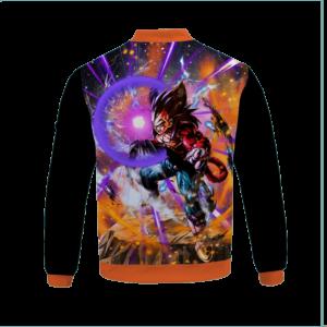 Dragon Ball Z Super Saiyan 4 Vegeta Cool Bomber Jacket