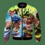 Dragon Ball Z Vegito Broly Super Fight Bomber Jacket