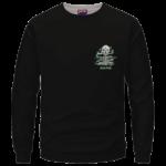 Escape Dope Art Skull Smoking 420 Marijuana Crewneck Sweatshirt