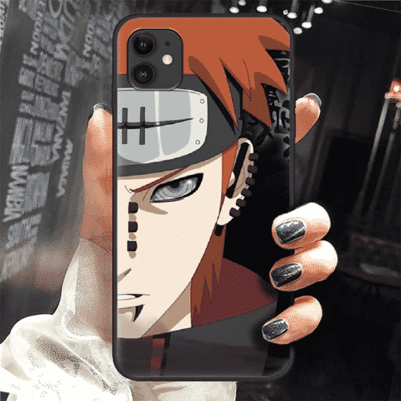 Fierce Nagato Half Face Rinnegan Eyes iPhone 12 Cover