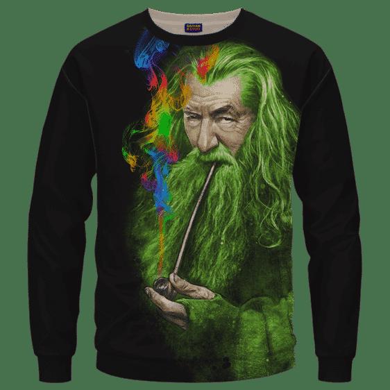 Gandalf Ganjalf The Green Smoking Dope Sweatshirt