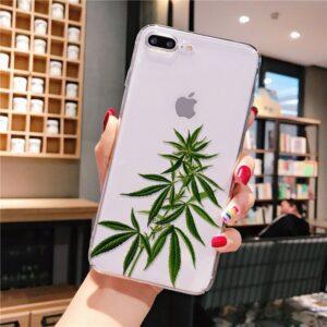 Growing Marijuana Plant iPhone 12 (Mini, Pro & Pro Max) Case