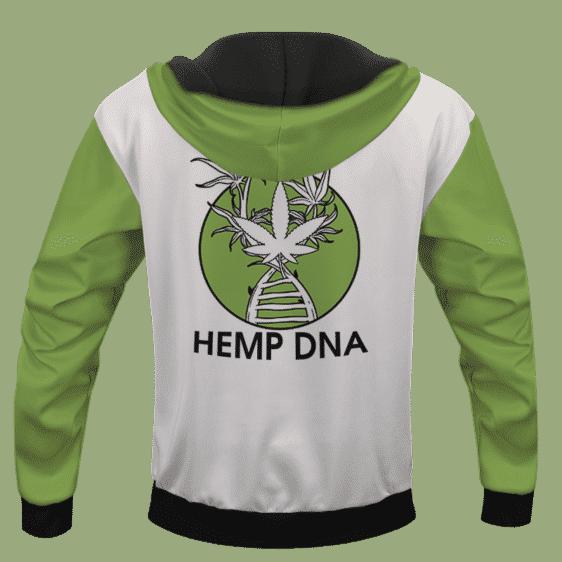 Hemp DNA Cannabis Marijuana Enthusiast Pullover Hoodie