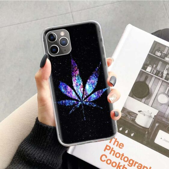 High As The Galaxy Weed iPhone 12 (Mini, Pro & Pro Max) Case