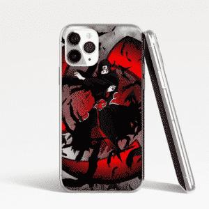 Itachi Crow Clone Red iPhone 12 (Mini, Pro & Pro Max) Case