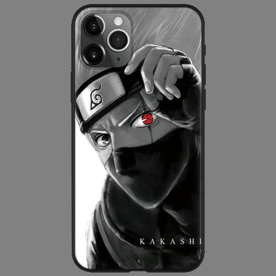 Kakashi Sharingan Eye iPhone 12 (Mini, Pro & Pro Max) Case