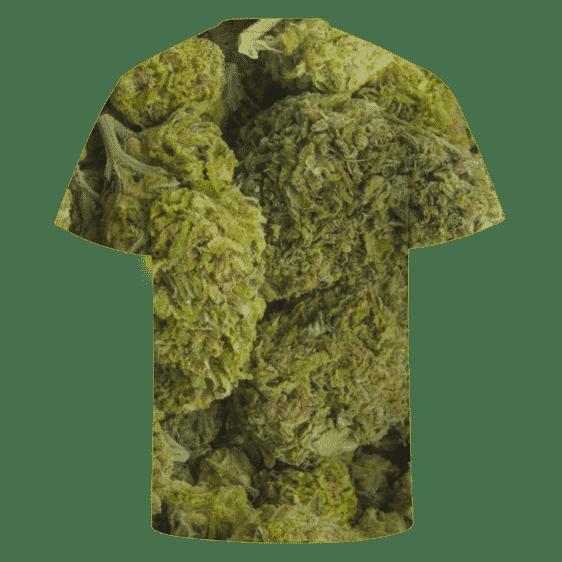 Kush Marijuana Nug Awesome All Over Printed T-shirt