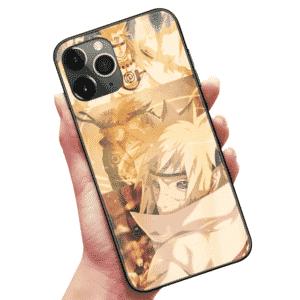 Lord 4th Hokage Minato Nine-Tails Chakra Mode iPhone 12 Case