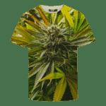 Marijuana Kush Plant High Grade All Over Print Cool T-shirt