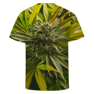 Marijuana Kush Plant High Grade All Over Print Cool T-shirt