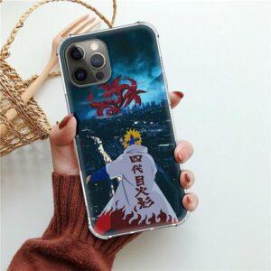 Minato Nine-Tails Kyuubi iPhone 12 (Mini, Pro & Pro Max) Case