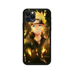 Naruto Fiery Aura Fan Art iPhone 12 (Mini, Pro & Pro Max) Case