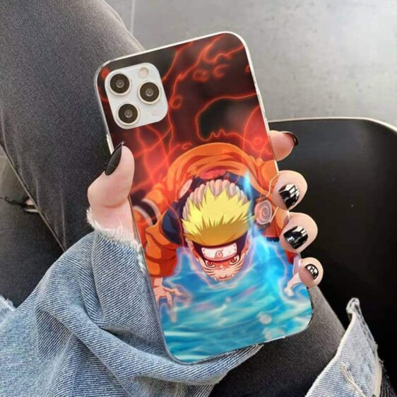 Naruto Jinchuriki Kurama Nine-Tailed Beast iPhone 12 Cover