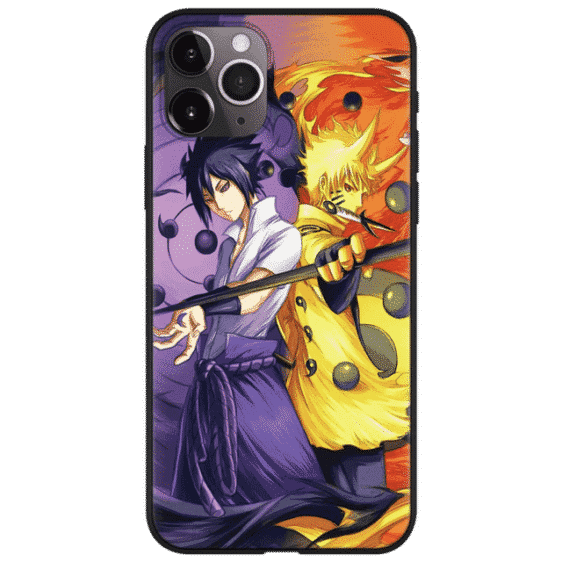 Naruto Sasuke Power Jinchuuriki Sharingan iPhone 12 Cover