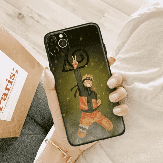 Naruto Victorious Smile iPhone 12 (Mini, Pro & Pro Max) Case