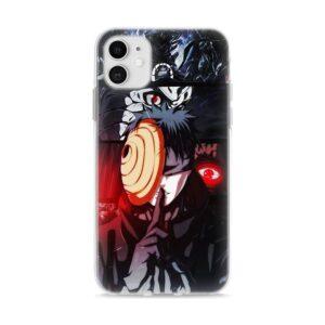 Obito Uchiha Rinne-Sharingan Shaped Mask iPhone 12 Cover