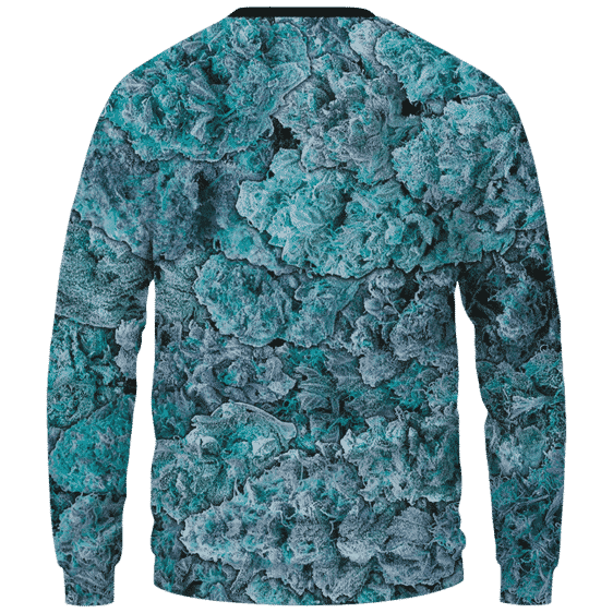 Rick & Morty Peace Among Worlds 420 Marijuana Crewneck Sweatshirt Back