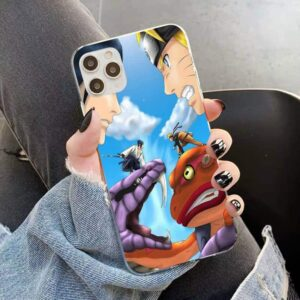 Sasuke Snake Aoda Vs Naruto Toad Gamakichi iPhone 12 Case