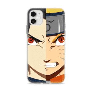 Sasuke's Sharingan And Naruto's Sage Mode iPhone 12 Cover