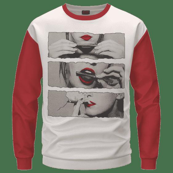 Sexiest Way To Roll A Cannabis Marijuana Blunt Sweatshirt