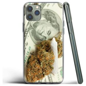 Smoke Joints Earn Money iPhone (Mini, Pro & Pro Max) Case