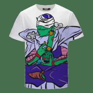 Stoner Piccolo Bong Hits Hemp Weed Pot 420 Awesome White T-shirt