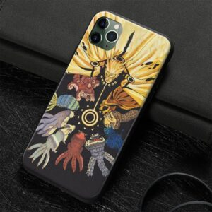 Tailed Beasts With Naruto Sage of Six Paths iPhone 12 Case