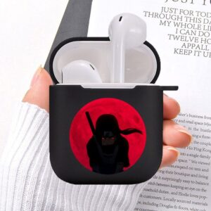 The Blood Red Moon & Akatsuki Itachi Uchiha Airpods Case