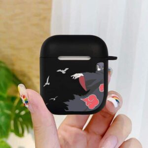 The Revenge & Wrath Of Itachi Uchiha Black Airpods Case