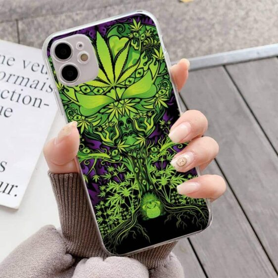 The Tree of Weed & Chill iPhone 12 (Mini, Pro & Pro Max) Case