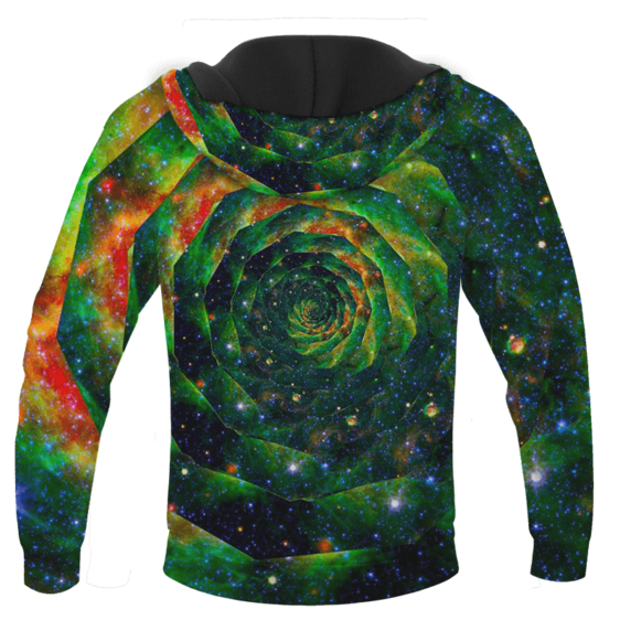 Trippy Galaxy Jimi Hendrix Smoking Joint 420 Marijuana Hoodie