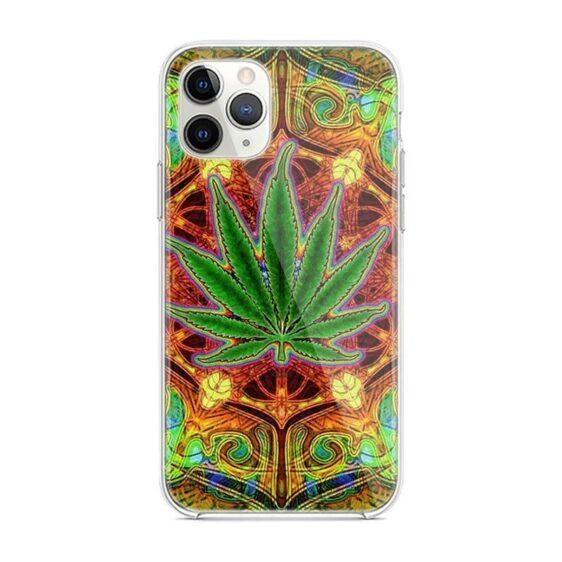 Trippy Marijuana Mandala iPhone 12 (Mini, Pro & Pro Max) Case