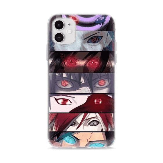 Uchiha Sharingan Eyes iPhone 12 (Mini, Pro & Pro Max) Case