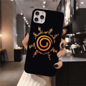 Uzumaki Naruto Eight Trigrams Seal Black iPhone 12 Cover