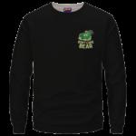 We Don't Care Bear Parody High on Marijuana 420 Crewneck Sweater