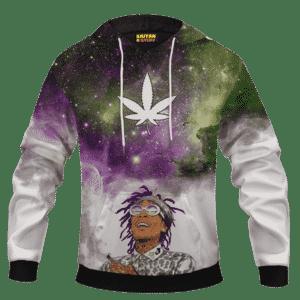Whiz Khalifa Dreaming About Galaxy Marijuana Pullover Hoodie