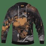 Whiz Khalifa Smokes Galaxy Blunt Marijuana Pullover Hoodie